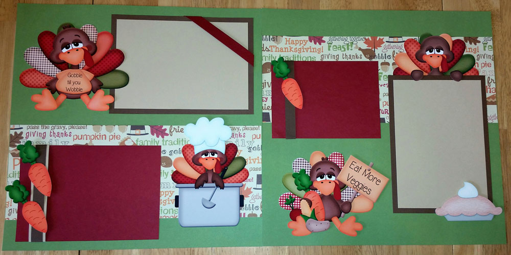 Gobble til you Wobble Page Kit