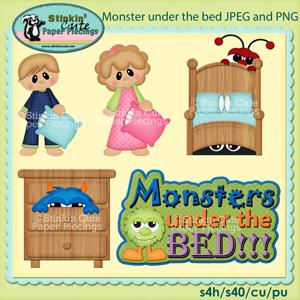 Monster Clip Art Set