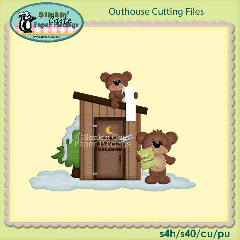 Outhouse Cutting File Set