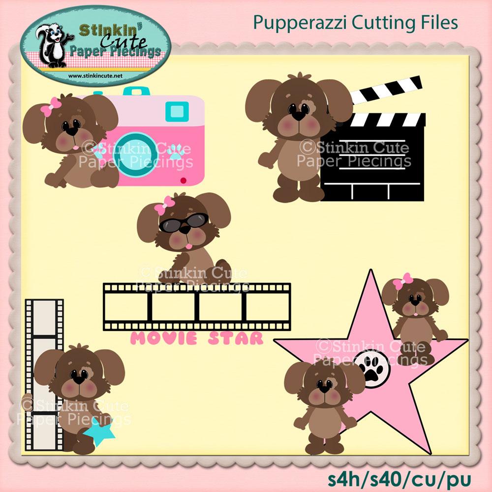 Pupperazzi Cutting File Set