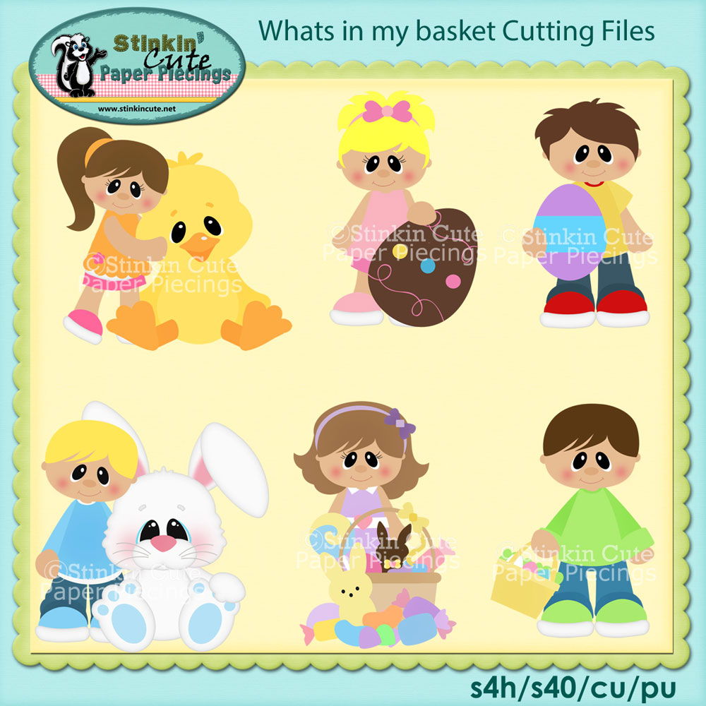 What's in my basket Cutting File Set
