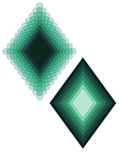 Diamond Scallops Cutting File Set
