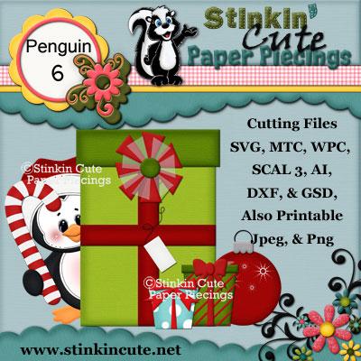 Penguin 6 Cutting File Set