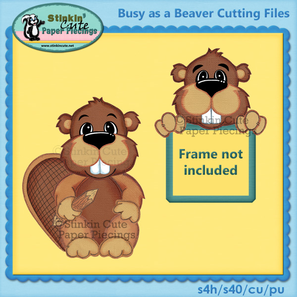 Busy As A Beaver Cutting File Set