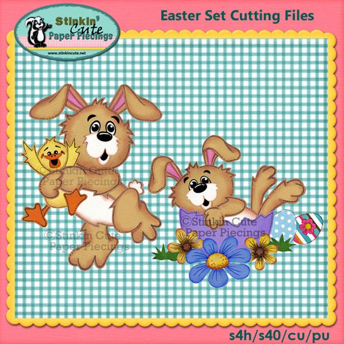 Easter Set Cutting File Set