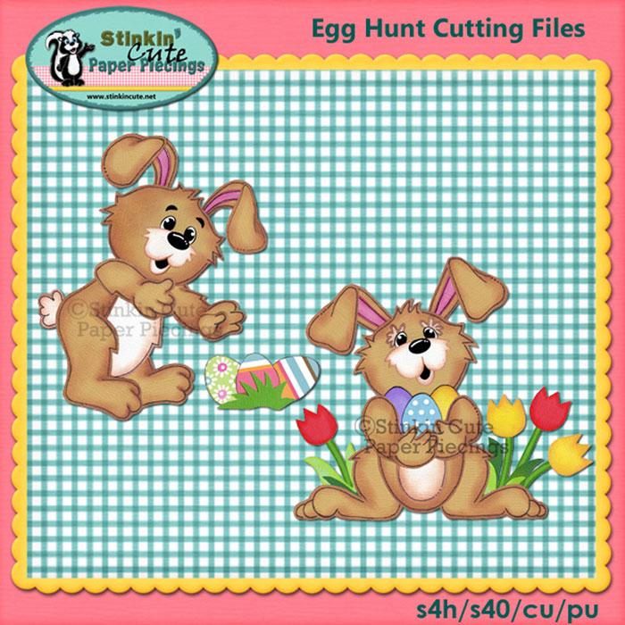 Egg Hunt Cutting File Set