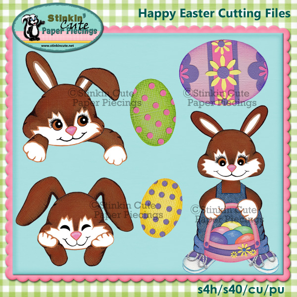 Happy Easter Cutting File Set