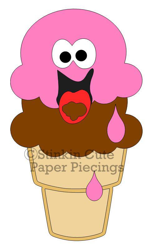 Ice Cream Cutting File Set