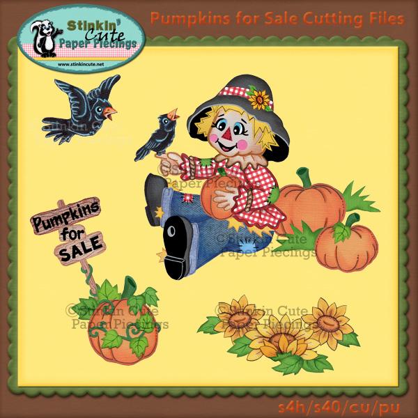Pumpkins For Sale Cutting File Set